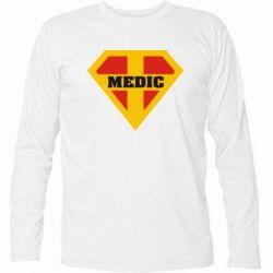 Футболка с длинным рукавом Super Medic - FatLine