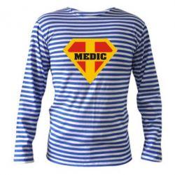 Тельняшка с длинным рукавом Super Medic - FatLine