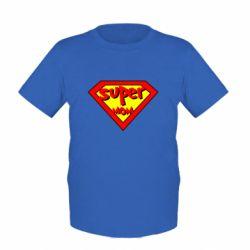 Детская футболка Super mom