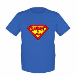 Дитяча футболка Super mom