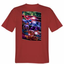 Мужская футболка Super power avengers