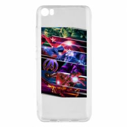 Чехол для Xiaomi Mi5/Mi5 Pro Super power avengers