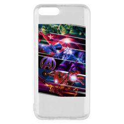 Чехол для Xiaomi Mi6 Super power avengers