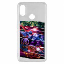 Чехол для Xiaomi Mi8 Super power avengers