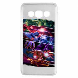 Чехол для Samsung A3 2015 Super power avengers