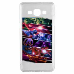 Чехол для Samsung A5 2015 Super power avengers