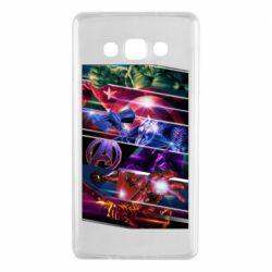 Чехол для Samsung A7 2015 Super power avengers