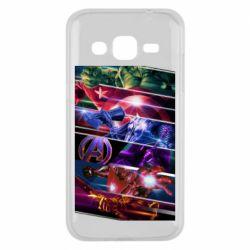 Чехол для Samsung J2 2015 Super power avengers