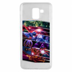 Чехол для Samsung J6 Super power avengers