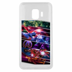 Чехол для Samsung J2 Core Super power avengers