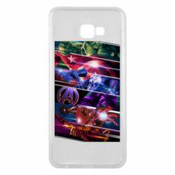 Чехол для Samsung J4 Plus 2018 Super power avengers