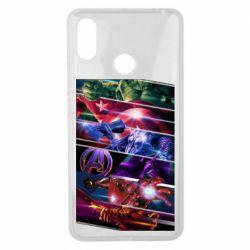 Чехол для Xiaomi Mi Max 3 Super power avengers