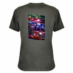 Камуфляжная футболка Super power avengers