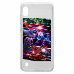 Чехол для Samsung A10 Super power avengers