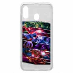 Чехол для Samsung A30 Super power avengers