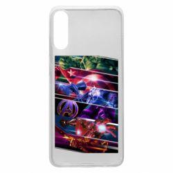 Чехол для Samsung A70 Super power avengers