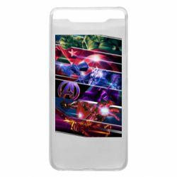 Чехол для Samsung A80 Super power avengers