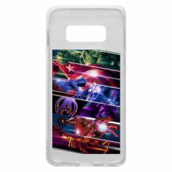 Чехол для Samsung S10e Super power avengers