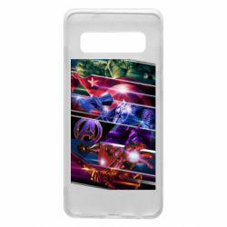 Чехол для Samsung S10 Super power avengers
