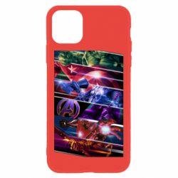Чехол для iPhone 11 Super power avengers