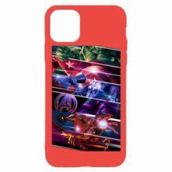 Чехол для iPhone 11 Pro Super power avengers