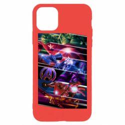 Чехол для iPhone 11 Pro Max Super power avengers