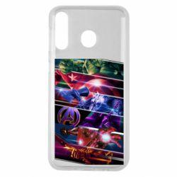 Чехол для Samsung M30 Super power avengers