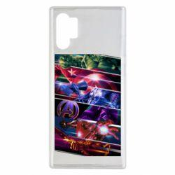 Чехол для Samsung Note 10 Plus Super power avengers