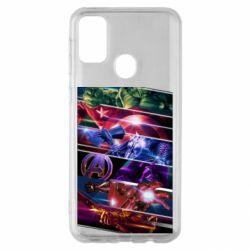 Чехол для Samsung M30s Super power avengers