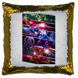 Подушка-хамелеон Super power avengers