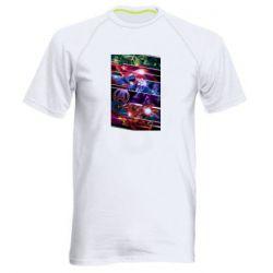 Мужская спортивная футболка Super power avengers