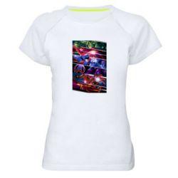 Женская спортивная футболка Super power avengers