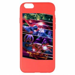 Чехол для iPhone 6 Plus/6S Plus Super power avengers