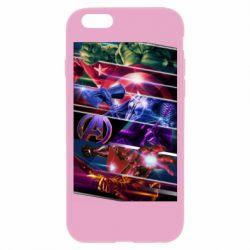 Чехол для iPhone 6/6S Super power avengers