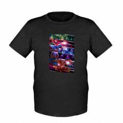 Детская футболка Super power avengers