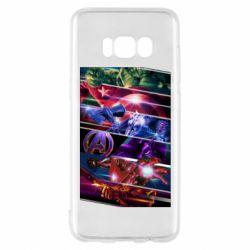 Чехол для Samsung S8 Super power avengers