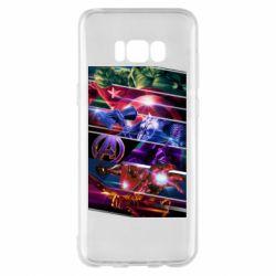 Чехол для Samsung S8+ Super power avengers