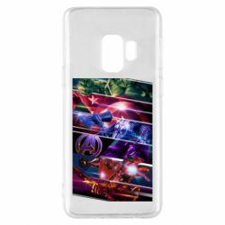 Чехол для Samsung S9 Super power avengers