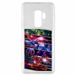 Чехол для Samsung S9+ Super power avengers