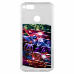 Чехол для Xiaomi Mi A1 Super power avengers