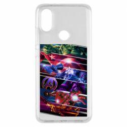 Чехол для Xiaomi Mi A2 Super power avengers