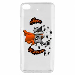 Чехол для Xiaomi Mi 5s Super raccoon