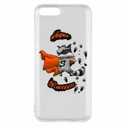 Чехол для Xiaomi Mi6 Super raccoon