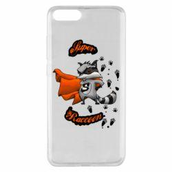 Чехол для Xiaomi Mi Note 3 Super raccoon