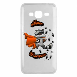 Чехол для Samsung J3 2016 Super raccoon
