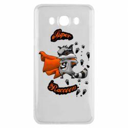 Чехол для Samsung J7 2016 Super raccoon