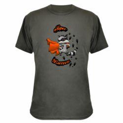 Камуфляжная футболка Super raccoon