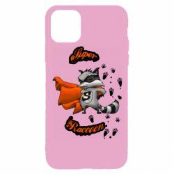 Чехол для iPhone 11 Pro Super raccoon