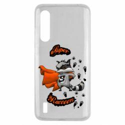 Чехол для Xiaomi Mi9 Lite Super raccoon