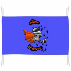 Флаг Super raccoon